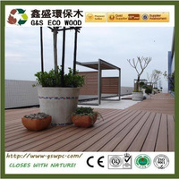 Waterproof and fireproof wpc decking,high quality and hot selling wpc board, park,swimming pool wood plastic composite decking