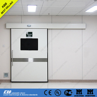 operating room doors with air tight function