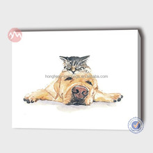 modern animal dog canvas pictures
