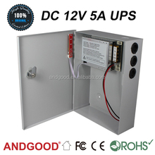 CE certificate for CCTV power supply AGA SIWD1205-01B