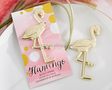 """2015 New Arrival Wedding favors and gifts """"Fancy and Feathered"""" Flamingo Bottle Opener Party Favors"""