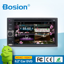 Universal 2 din Android 4.4 Car dvd player with GPS+Wifi+Bluetooth+Radio+1.2GB CPU+DDR3+Capacitive Touch Screen+wifi+car pc