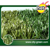 Comfortable two colors football artificial grass