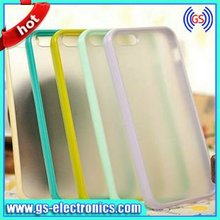 Tranparent colorful cell phone smart cover 2 in 1 case for iphone 5