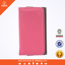 Wholesale fashion style PU leather cheap wallet mobile phone case for Samsung S3 S4 S5 model