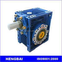 RV series aluminun mini worm gear box with high quality