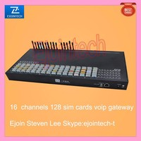 voip soft switch, 16 port 128 sim cards voip gateway, route for traffic provider