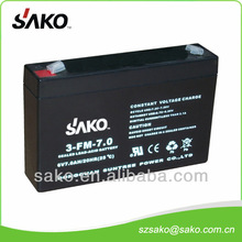6V5.5AH Sealed Lead-acid Battery with 12 Months Quality Warranty And Low Price