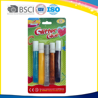 Non-toxic best selling school supply 12ml Stationery Glitter glue