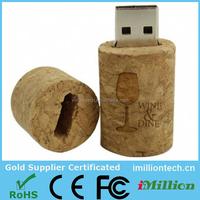 wine bottle stopper wooden cork usb