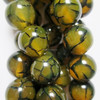 Natural Dragon Veins Agate Beads, 10mm Beads
