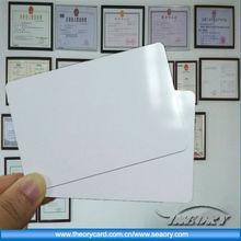 RFID card/ID card/PVC card, 13.56MHz 1K hybrid card, dual frequency RFID card