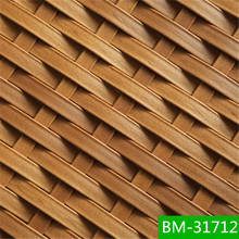 European style peel rattan for outdoor table set BM-31712-4 popular style