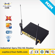 F3434 industrial 3g wifi router 12V with sim card slot openwrt router 12v car wifi router