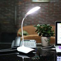 Fashion Rechargeable LED Lamp Light Touch Sensor Table Light Dimmer Eye Desk Lamp for booking office bedroom