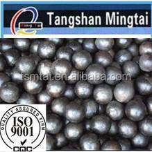 2015 Low price Tangshan mingtai high quality high hardness high chrome steel grinding balls