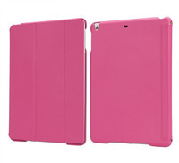 In Stock! Leather Bag For Apple New iPad Air 2 Case Stand Wake Up And Sleep Function Cover For iPad 5 Air iPad 6 High Quality