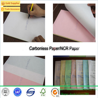China Manafacturer Carbonless Paper/NCR In sheet CB/CF/CFB