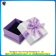 Customized printed Paper box packing with logo design Popular Paper Jewelry Packing Box