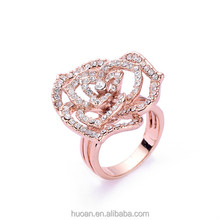 Top Sale!! Rose Gold Painting Elegant life buoy rings