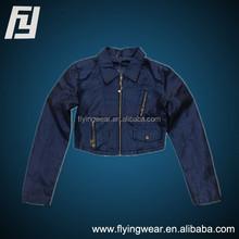 Slim Fit Women Leatherette Jacket