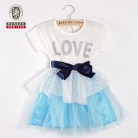 Baby dress 2012 pure color white angel kids dress