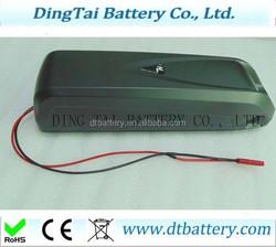 18650 36v 11.6ah Downtube ebike battery