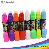 wet & dry erasable ink type 10 mm nib liquid chalk marker pen