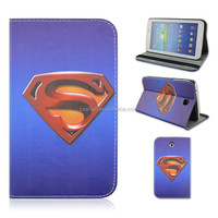 Superman Logo Flip Stand PU Leather Tablet Cover Case For Samsung Galaxy Tab 3 7inch P3200/T210/T21 From Alibaba China
