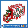 red wooden advent calendar train truck christmas gifts for kids