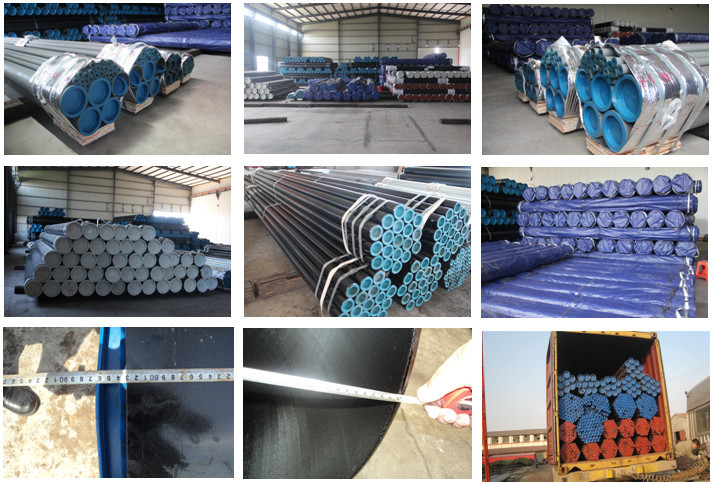 large diameter seamless thin wall steel pipe 8 inch schedule 40 galvanized steel pipe