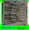Beautiful Wrought Iron Window Guards With Color
