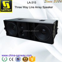 """LA-315 Dual 15"""" Line Array Speakers And Subwoofers"""