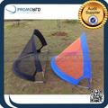 Portátil dobrável poliéster 210D dobrável porta de futebol Mini objetivo de futebol crianças brincam tenda