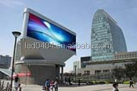 foldable P16 smd outdoor full color led big screen billboard