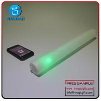 flashing LED foam stick Custom glow up wand blinking LED foam stick