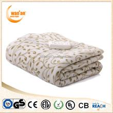 Queen Size Underblanket Washable Polar Fleece Electric Blanket for home