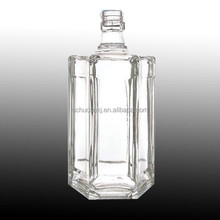 Item HSB 127 liquor bottle glass ,recycled glass spririt bottle ,750ml glass spirit bottle
