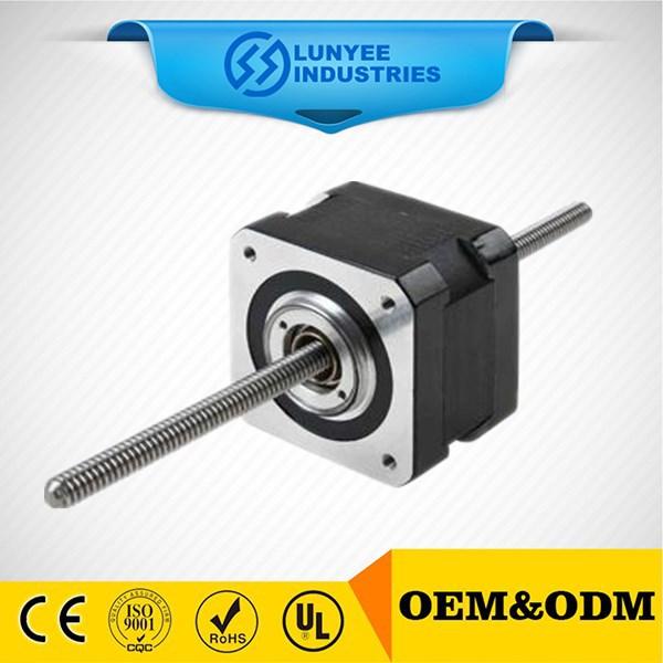 Threaded shaft 20mm micro linear stepper motor view micro for Threaded shaft stepper motor