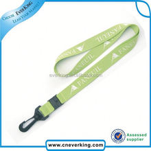 Factory No Mini Order webbing type lanyard for promotion