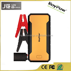 2015 Roypow New released 12v 12000mah 4-in-1 portable car jump starter power for 4