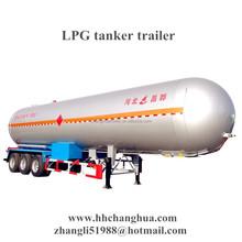 LPG tank trailer, LPG storage tank made from steel