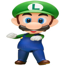 Japanese Anime Super Mario Bros Luigi Action Figure
