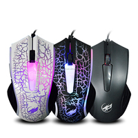 alibaba best seller optical mouse for pc laptop, 4d custom printed mouse pads, led light optical wiredmouse