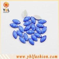 high quality low price hotfix flat back acrylic flower rhinestone