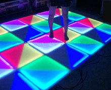 1m*1m RGB color mixing led dance floor