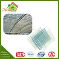 chinois conception du toit isolation acoustique en plastique des tôles de toiture en polycarbonate