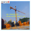 China Hongda electric/hydrualic tower crane QTZ63B(5610) 6t tower crane
