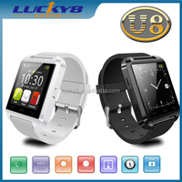 New U8 Bluetooth Smart Watch WristWatch Phone Mate For IOS Android Apple iphone 4/4S/5/5C/5S Samsung S2/S3/S4/Note 2/Note 3 HTC