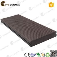Waterproof weather resistance wood batten wpc outdoor decking floor